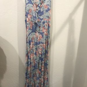 Rip Curl Long Dress with razor back